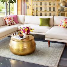 World Market Coffee Table Gold Cala Hammered Coffee Table World Market