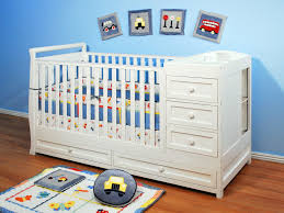 Non Convertible Cribs Nursery Rooms Baby 2 In 1 White Non Toxic Finish Baby Crib