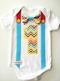birthday onesie boy 1st birthday onesie boys bow tie and suspenders li l birdie shop
