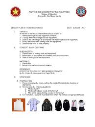 Multiple Choice Questions For Fashion Lesson Plan Sewing Seam Sewing