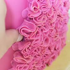 how to make easy fondant ruffles u2013 rosie cake diva cake