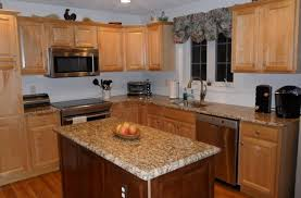 average price for kitchen cabinets hickory wood honey glass panel door average cost of new kitchen