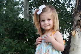 Girls With Beef Curtains Shirred Summer Dress With Tie Back Bow Make It And Love It