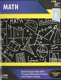 steck vaughn core skills mathematics workbook grade 8 steck