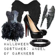 Fallen Angel Halloween Costume Halloween Costumes Angel Darkness Polyvore