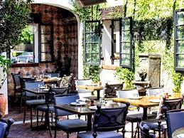 Los Patios Restaurant Outdoor Garden Patio Design Of Aoc Restaurant Los Angeles