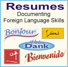 Write Resume How To Write Resume Foreign Language Skills
