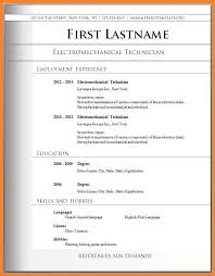 Basic Template Resume Basic Sample Resume Format Show Me A Resume Format Show Company