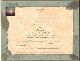 catholic child baptism certificates page 4 inspired