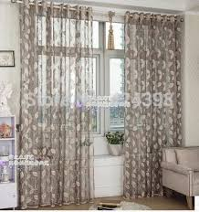 Grey Beige Curtains High Quality Morden Grey Beige Gold Sheer Curtain For Bedroom