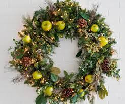 wreath lights stunning photo ideas lighted