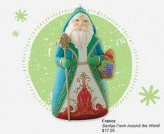 2014 santas around the world france hallmark keepsake ornament