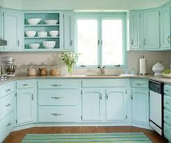 Bhg Kitchen And Bath Ideas Designer Palette Aqua Aqua Kitchen Colored Cabinets And
