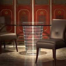 round clear acrylic dining table perspex dining lucite dining full size of dining room allan knight acrylic malabar dining table round k27469k 2df from