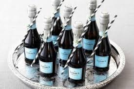 wine bottle favors where to find mini wine bottles for your wedding woman getting