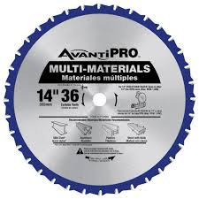 avanti 7 1 4 in x 40 tooth finish saw blade a0740r the home depot