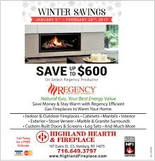 winter savings highland hearth and fireplace