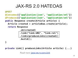 tutorial java jersey making java rest with jax rs 2 0