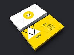 Template Business Card Psd 25 Free Psd Business Card Template Designs Designmaz