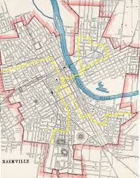 Middle Tn Map 50 Years Before Rosa Parks A Bold Nashville Streetcar Protest
