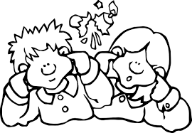 cartoon kids 4th july coloring page wecoloringpage
