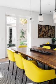 dining room white natural wood fresh crisp and clean vibe