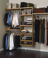 Closet Storage Bins by Minimalist Dressing Room With Diy Wood Closet Organizer Systems