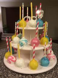 my sister u0027s 22nd birthday cake pops marble effect courtney u0027s