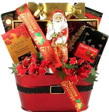 holiday cheer christmas gift basket