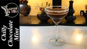 chocolate mint martini cómo hacer el chilly chocolate mint youtube