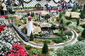 Missouri Botanical Gardens Missouri Botanical Garden Gardenland Express Garden Railroad G