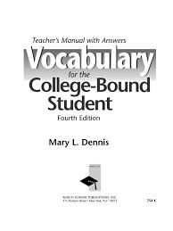 vocab answers 0