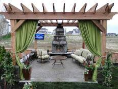 How To Cover A Pergola From Rain by Patio Cover Hgtv