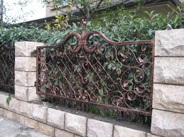decorative fence ideas u2014 unique hardscape design decorative