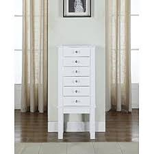 Jewelry Armoire Antique White Jewelry Armoires Jewelry Cabinets Sears
