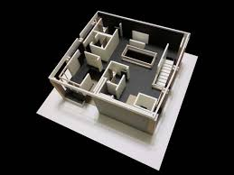 How To Make A House Floor Plan How To Make An Architectural Model By Hands 9 Steps