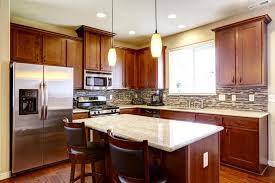 appareils de cuisine la combinaison d acajou de stockage de cuisine avec les appareils de