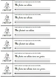 Exercices de lectureécriture  page 2  Dix mois
