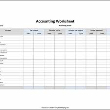Accounting Worksheet Template Excel Accounting Excel Spreadsheet Template Archives Excel Templates