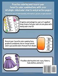 color charts a collection of coloring resources for colorists and