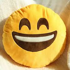 buy emoji decorative throw pillow stuffed smiley cushion home