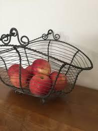french wire basket egg basket vintage wire basket vintage