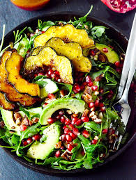 pomegranate dressing salad best easy vegan thanksgiving