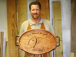 personalized tray personalized wedding anniversary gifts gathering wood
