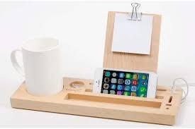 telephone stand desk organizer the handmade wooden desk organizer with phone stand and cup holder