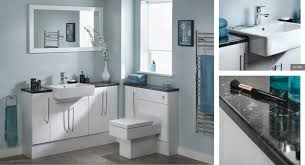 Fitted Bathroom Furniture White Gloss White Gloss Vanity