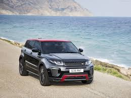 luxury black range rover land rover range rover evoque ember edition 2017 pictures