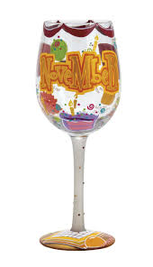 wine glass birthday 181 best birthday month painted images on pinterest glass paint