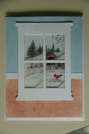 Christmas Window Frame Decoration best 25 window cards ideas on pinterest christmas cards
