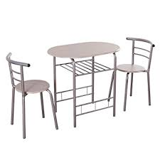 Dining Set 2 Chairs Giantex 3 Dining Set Table 2 Chairs Bistro Pub
